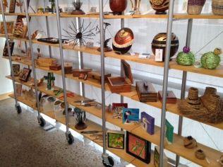 Main display area
