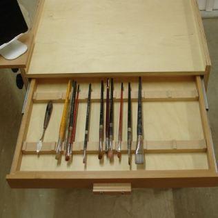 Brush Storage