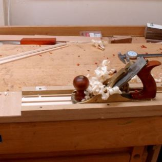 Use thickness jig and smooth plane