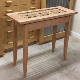 Table with Floating Top & Shoji portion of Kumiko