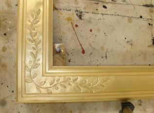 Original gilded finish