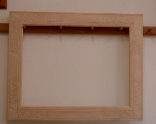 """Completed 18"""" x 24"""" frame"""