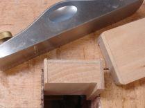 Chamfered plinth blocks