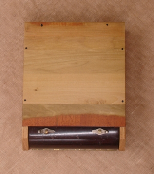 Top View, closed, note the Ebony pegs