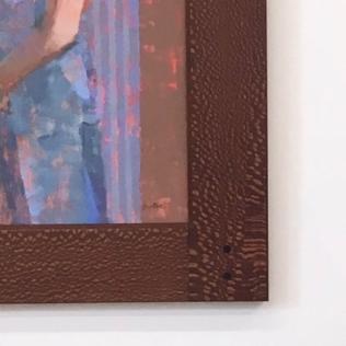 Corner Detail, frame size 18x24