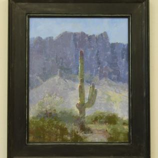 Saguaro & Sage by Diane Eugster