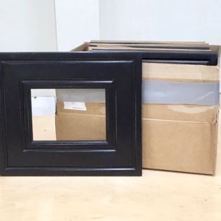 "5""x7"" finished frame, 4""x6"" in the box"