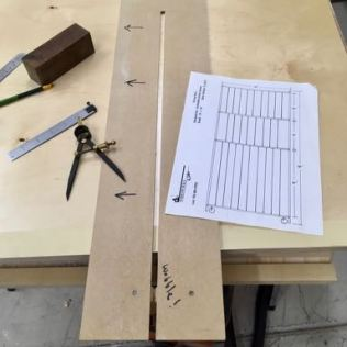 Plans, jig, and some tools