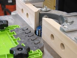 Triple bead cutter on shaper