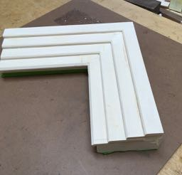Stepped Frame Sample