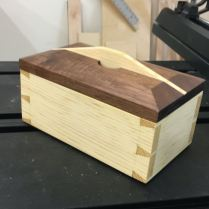 "Completed Box; 3""x4""x7"""