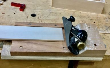 Block Plane and Shooting board