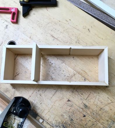 Insert assembled, fitting dividers